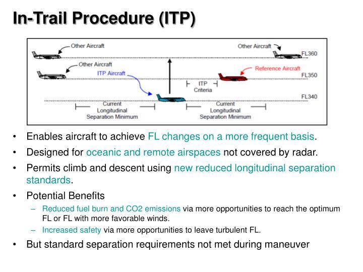 In-Trail Procedure (ITP)