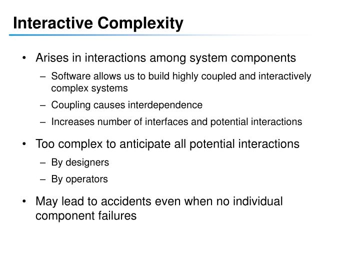 Interactive Complexity
