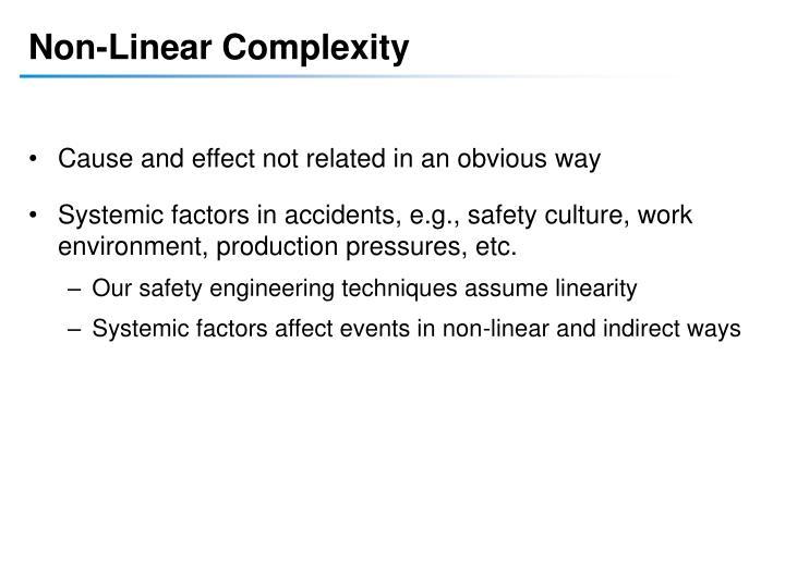 Non-Linear Complexity