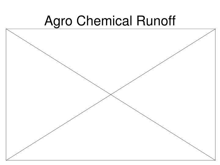 Agro Chemical Runoff