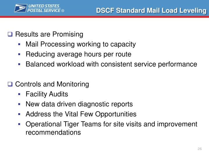 DSCF Standard Mail Load Leveling