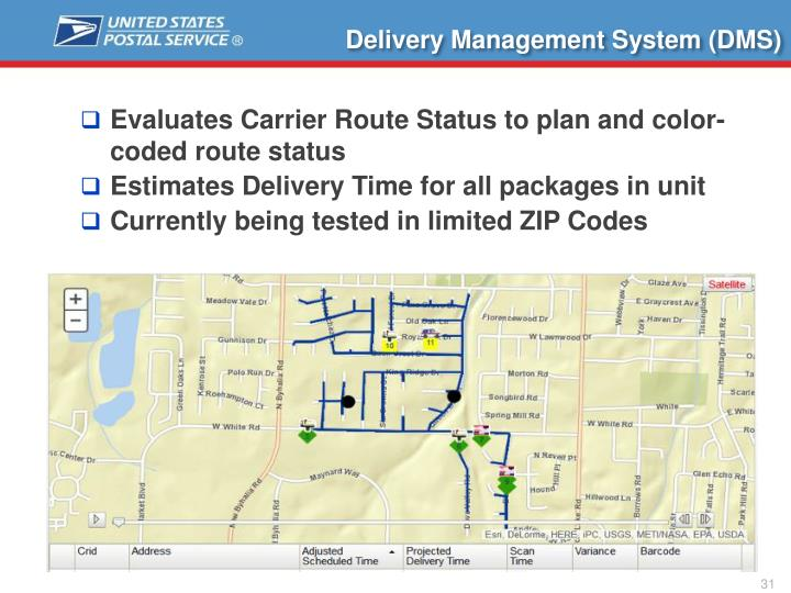 Delivery Management System (DMS)