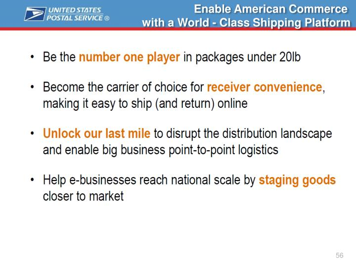 Enable American Commerce