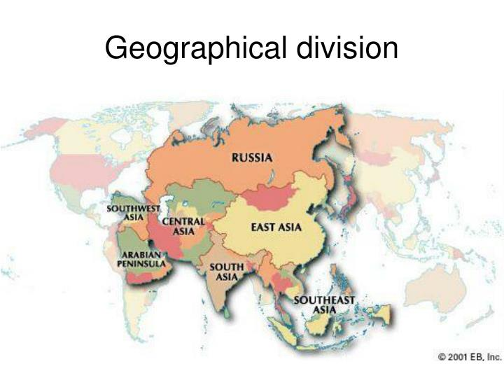 Geographical division