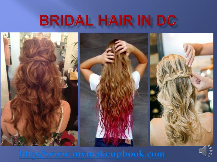 Bridal hair in dc