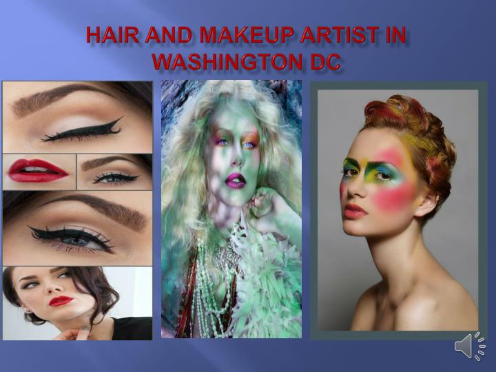 Hair and Makeup Artist in Washington DC