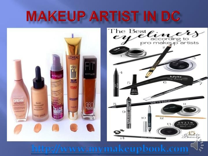Makeup artist in dc