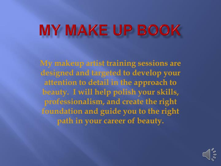 My make up book