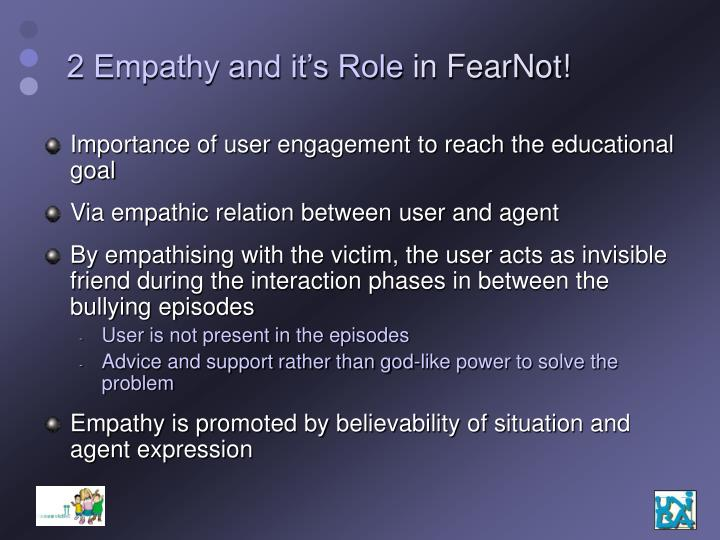 2 Empathy and it's Role