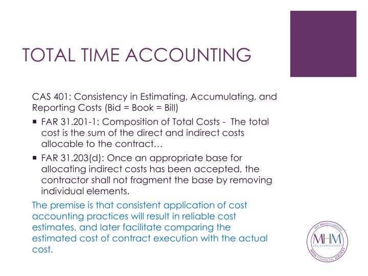 TOTAL TIME ACCOUNTING