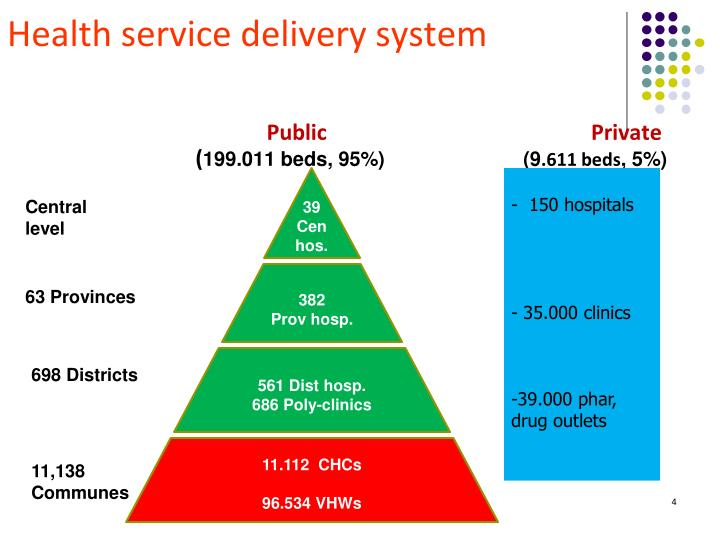 Health service delivery system