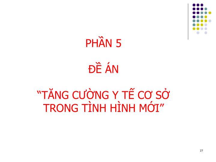 PHẦN 5