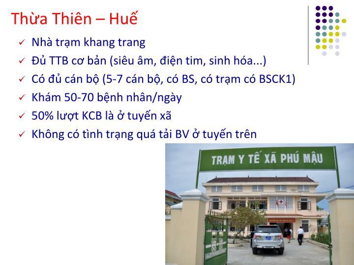 Thừa Thiên – Huế