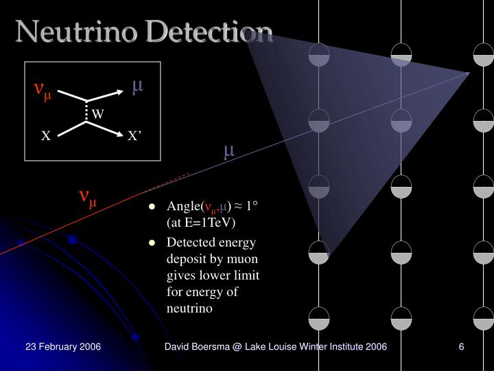 Neutrino Detection