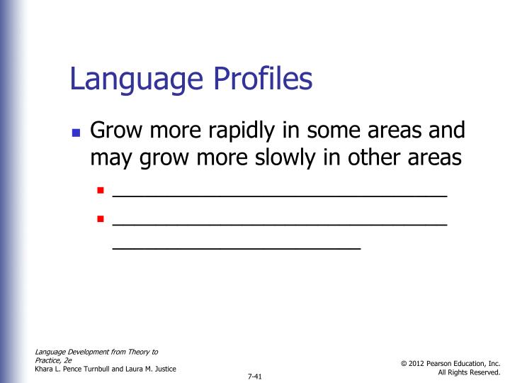 Language Profiles