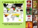 l exemple du caf
