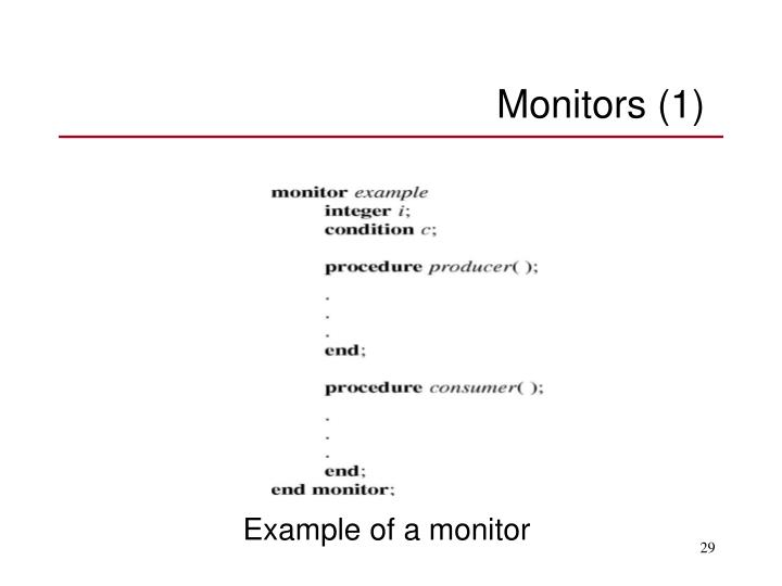 Monitors (1)