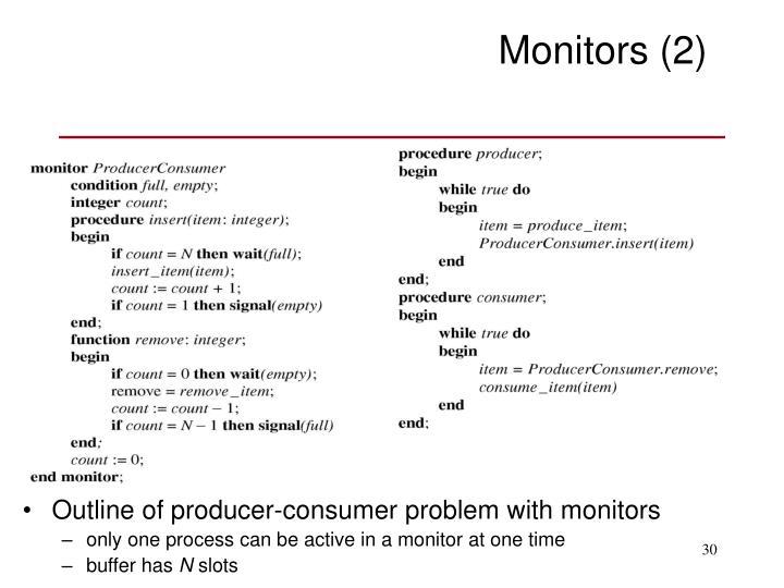 Monitors (2)