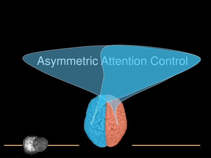 Asymmetric Attention Control