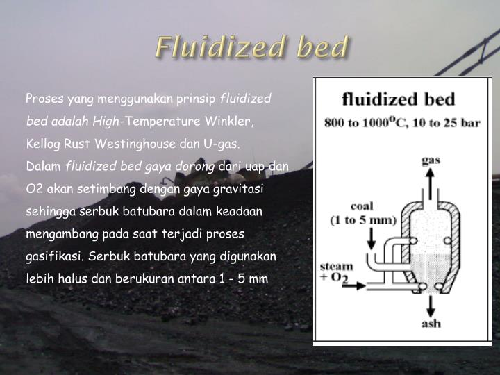 Fluidized bed