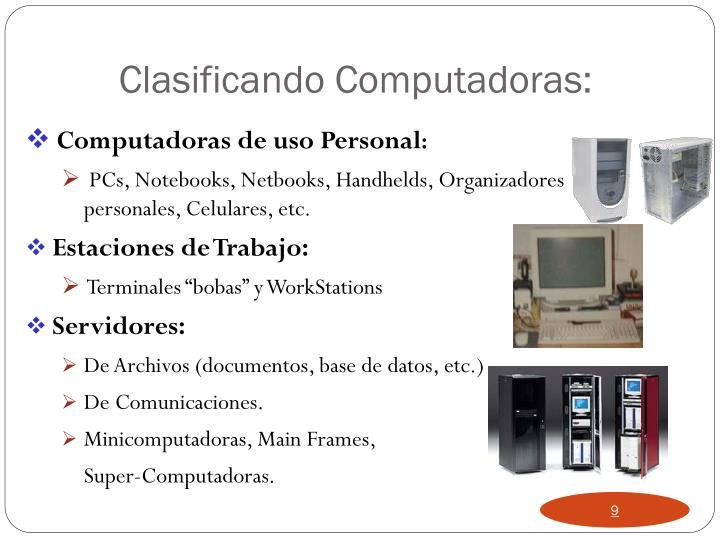 Computadoras de uso Personal
