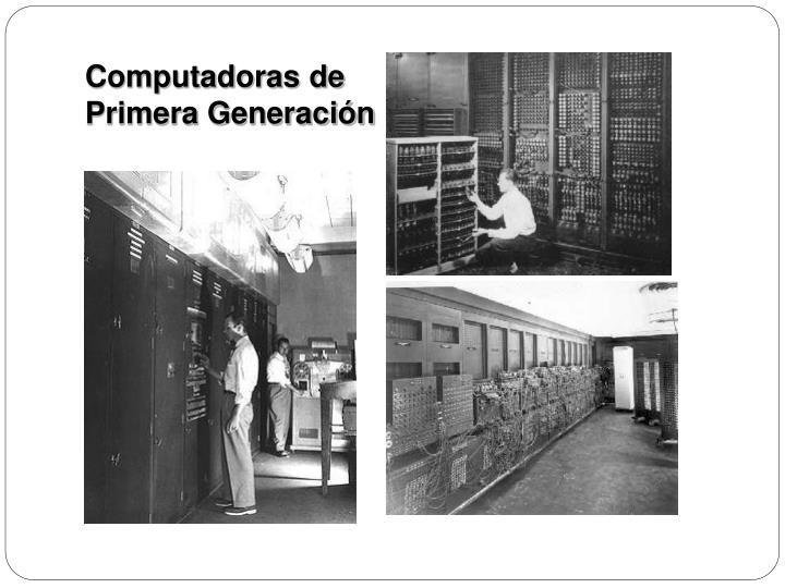 Computadoras de