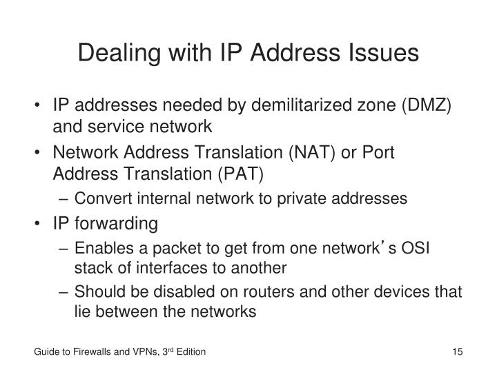 Dealing with IP Address Issues