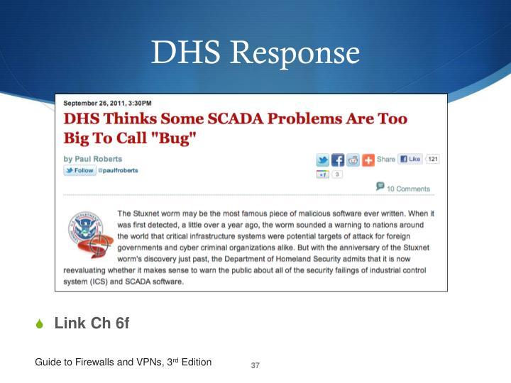DHS Response