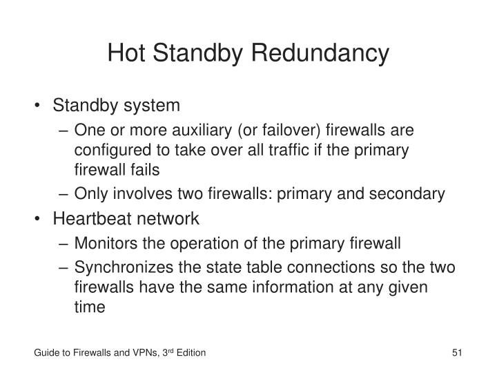 Hot Standby Redundancy