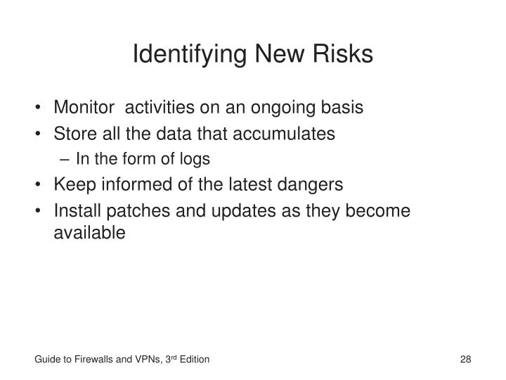 Identifying New Risks