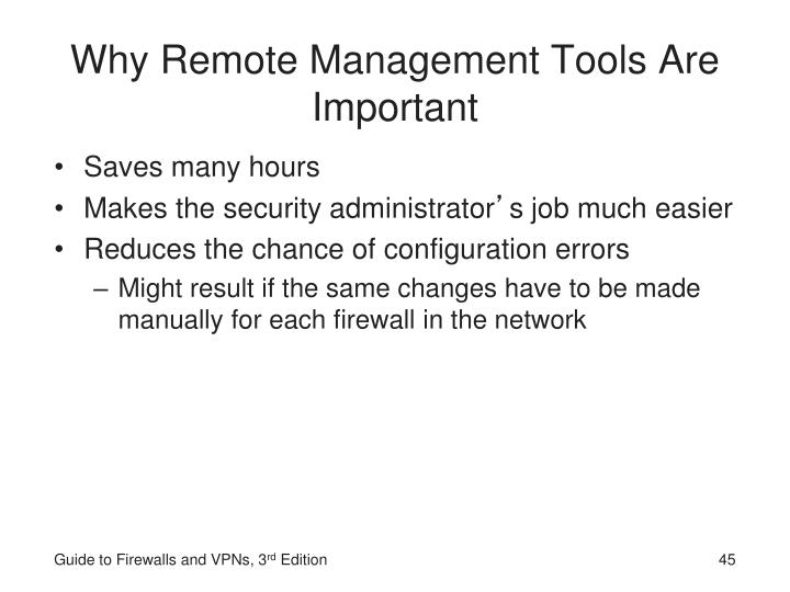 Why Remote Management Tools Are Important