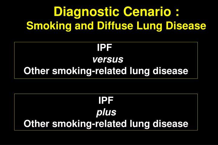 Diagnostic Cenario :