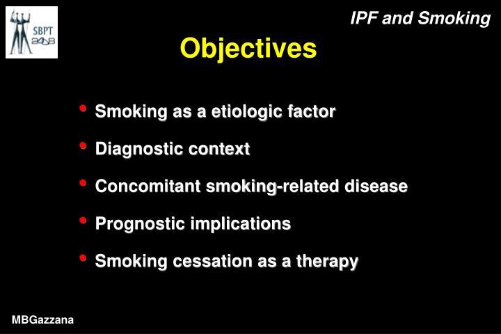IPF and Smoking