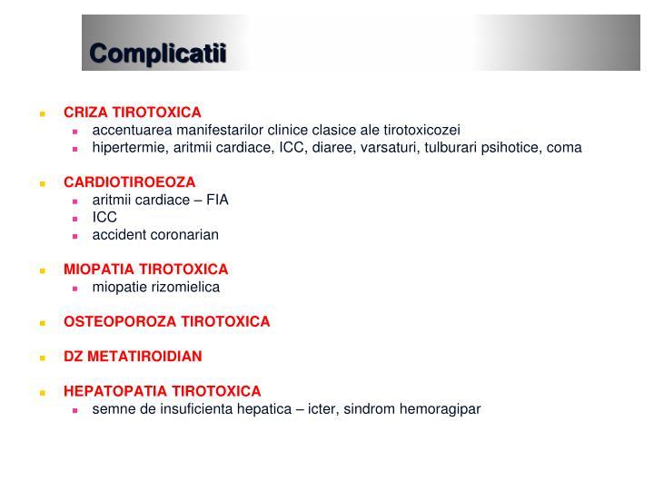 Complicatii