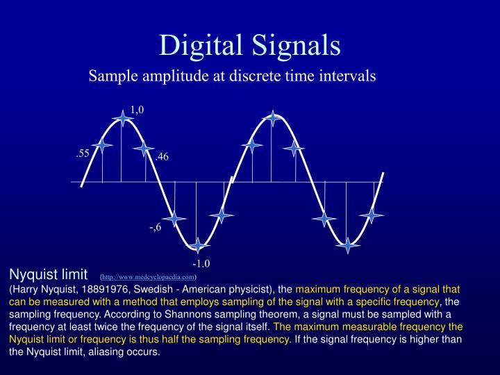 Digital Signals