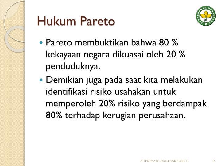 Hukum Pareto