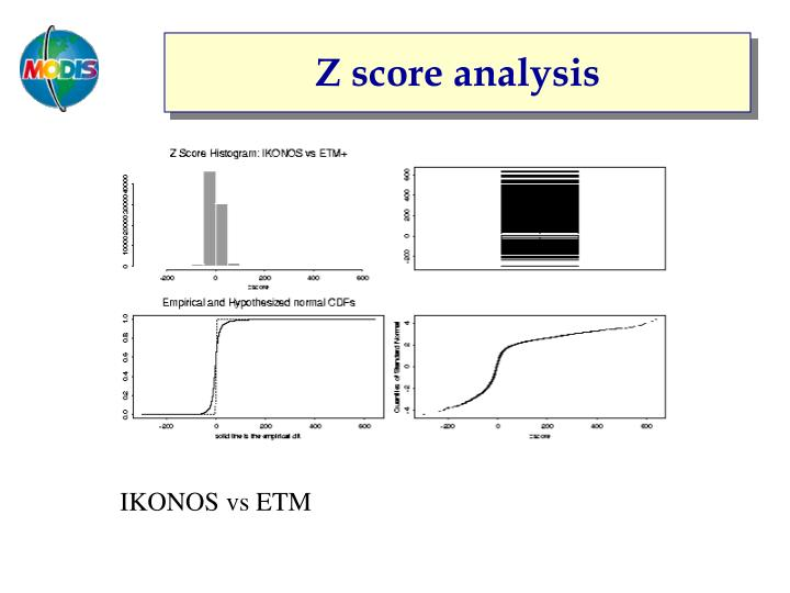 Z score analysis