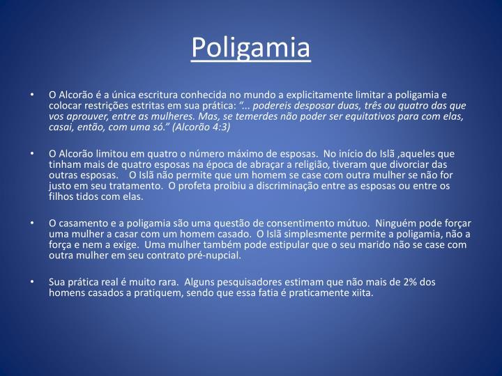 Poligamia