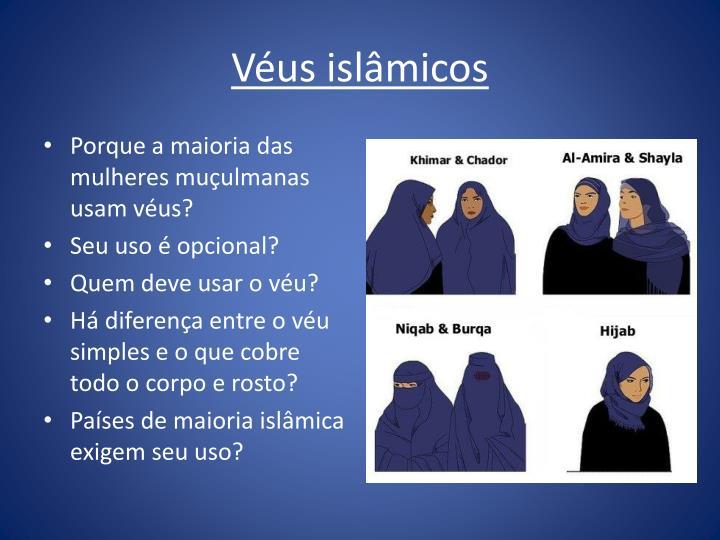 Véus islâmicos