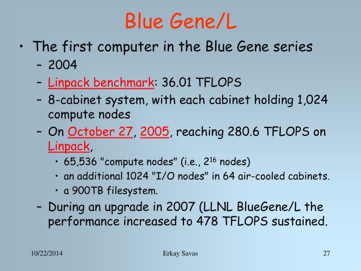 Blue Gene/