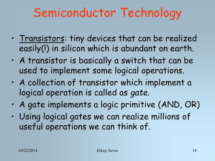 Semiconductor Technology