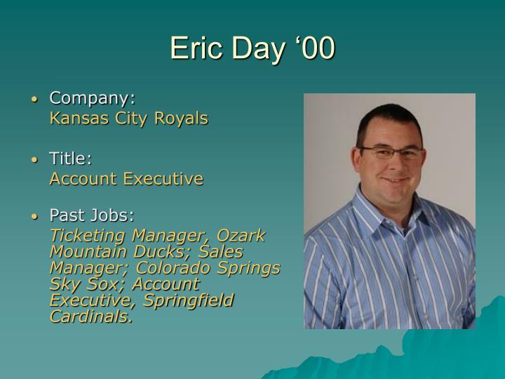 Eric Day '00