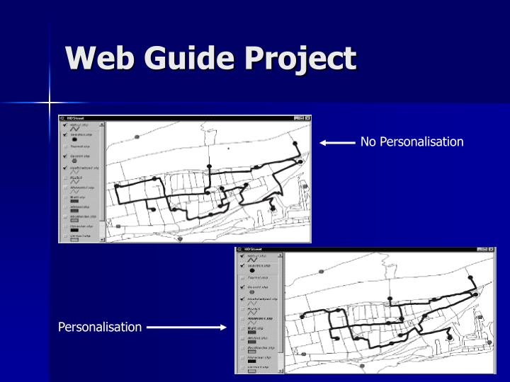 Web Guide Project