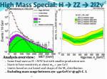 high mass special h zz 2l2 n