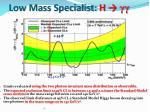 low mass specialist h1