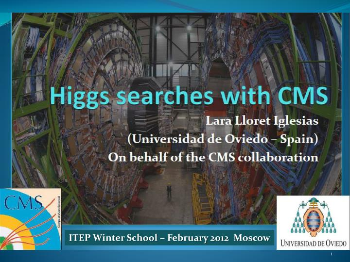 Itep winter school february 2012 moscow