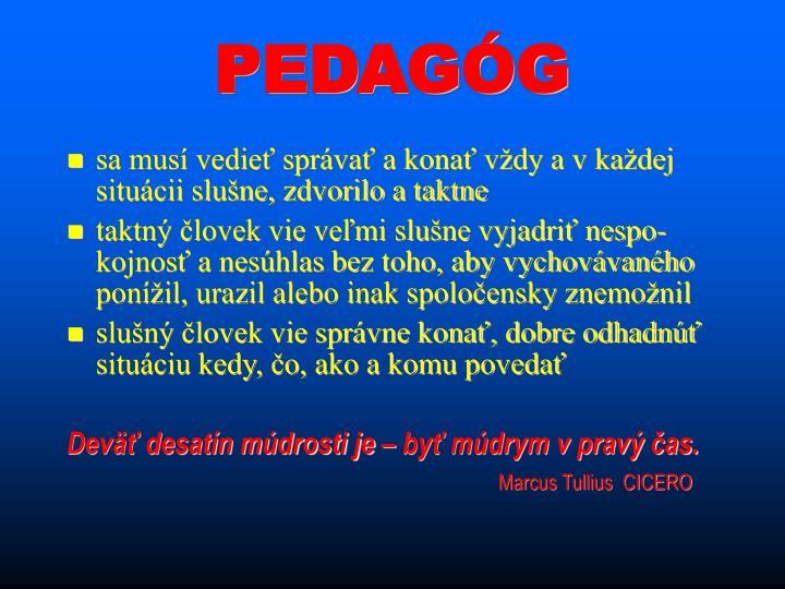 PEDAGÓG