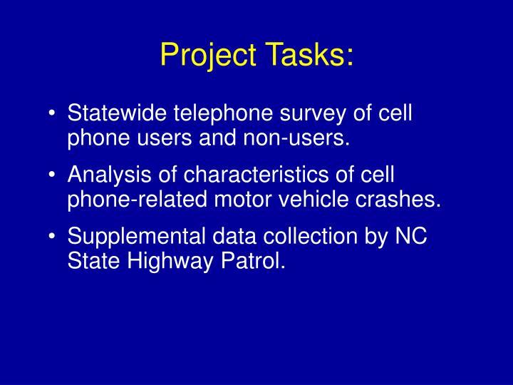 Project Tasks:
