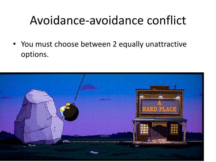Avoidance-avoidance conflict