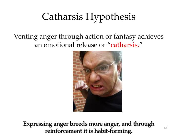 Catharsis Hypothesis